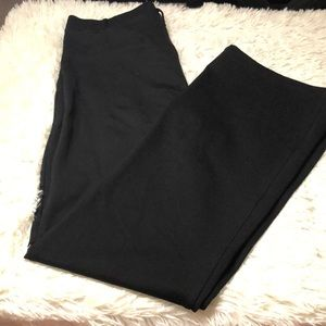 Betabrand boot cut high waisted pants size large